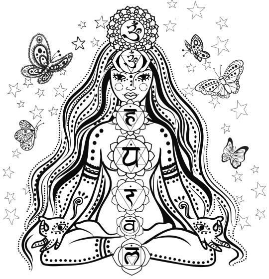 Chakra Symbols for coloring