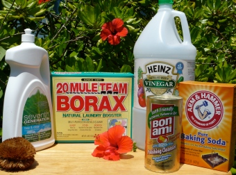 Choose safer cleaning products.